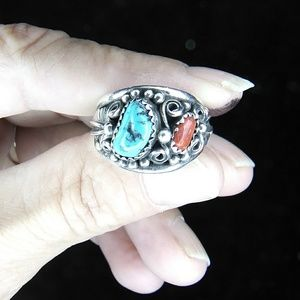 WOWZA!! Turquoise & Coral